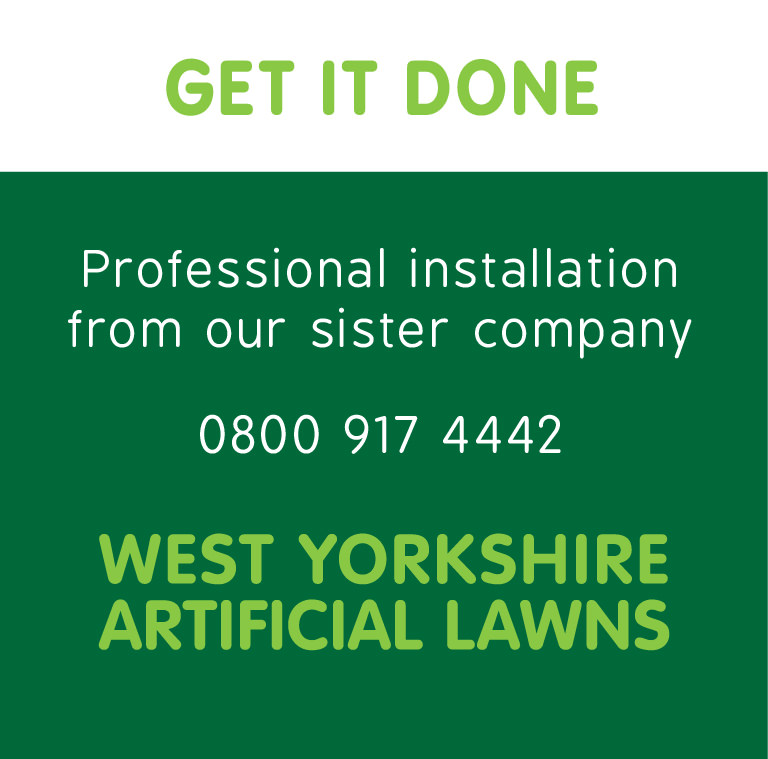 Professional artificial grass installation